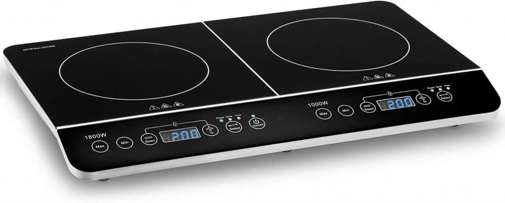 The Andrew James Double Induction Hob.