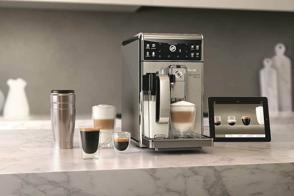 Bean To Cup Coffee Machine Smart Controls