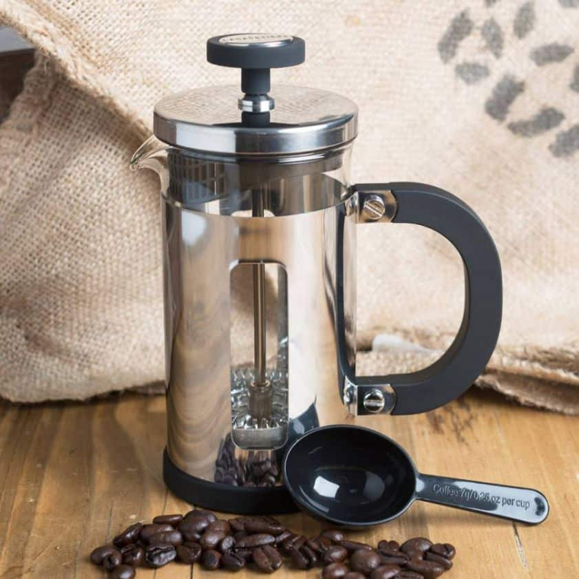 Cafetiere Chrome